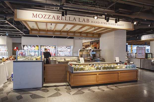 mozzarella lab in eataly toronto caffe