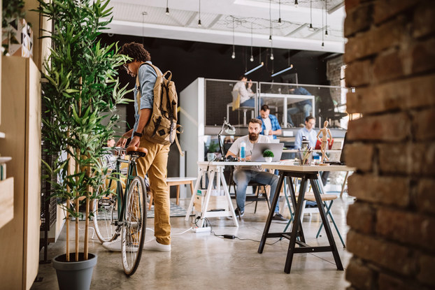 Coworking is more common now.