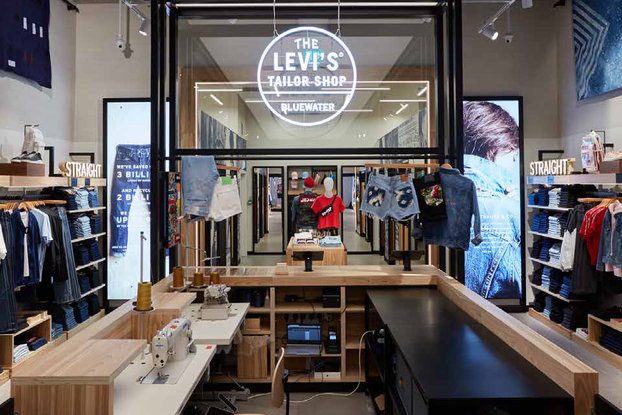 Shoppers can customize their purchases on the spot at the Lievi's store, one of the micro-experiences retailers are using to engage with consumers in physical stores.