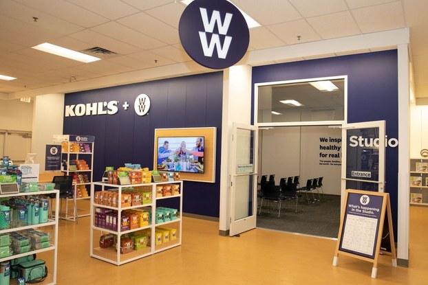 WW display inside kohl's