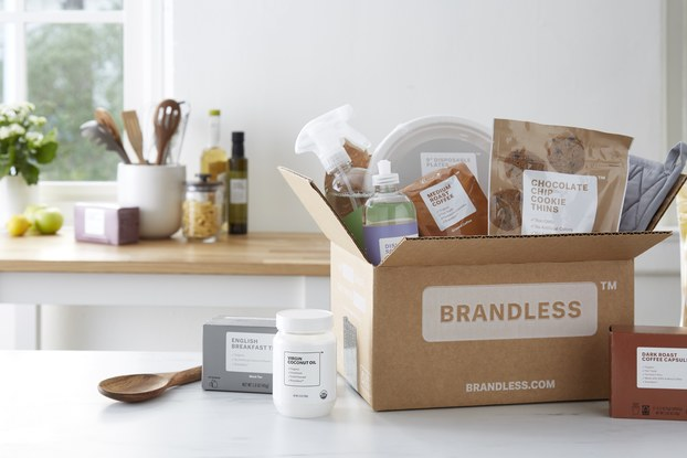 box, brandless, household items