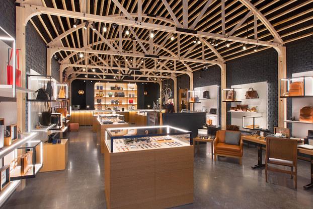 Shinola store interior