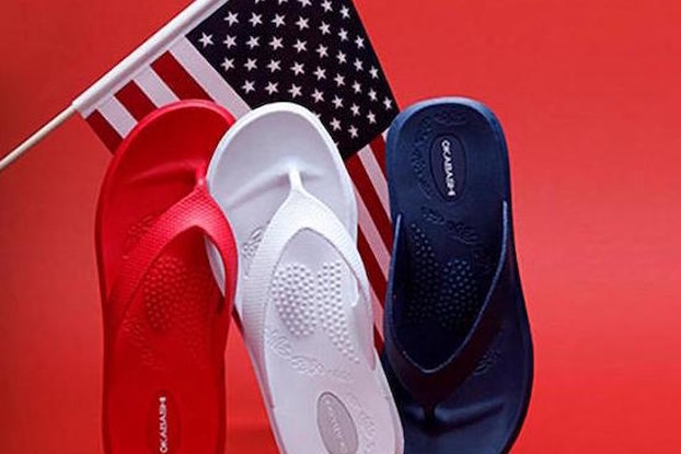 okabashi flip flops
