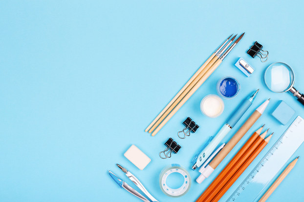 photo of office supplies