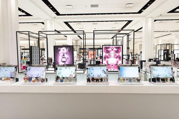 image of macy's digital fragrance bar