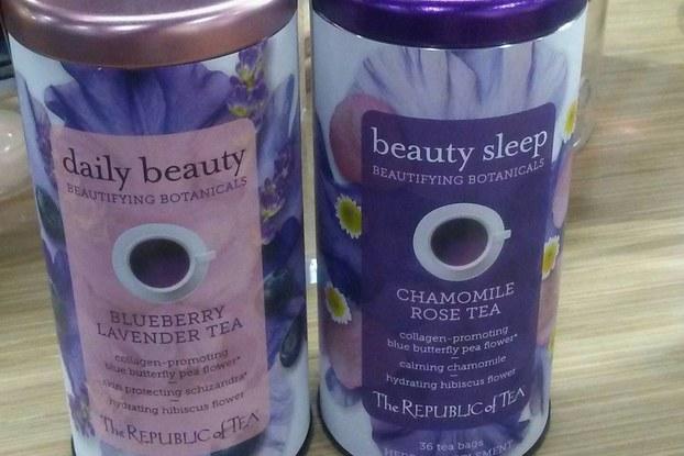republic of tea bottles of tea with collagen
