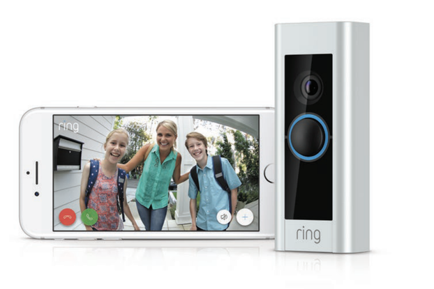 Ring doorbell and phone