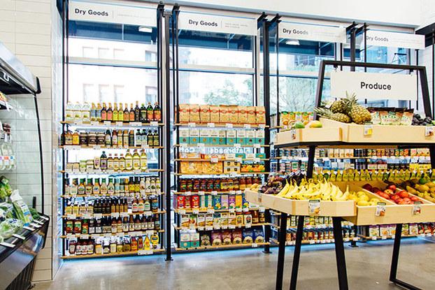 interior of choice market store in denver