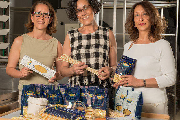 founders of camp 'oro pasta