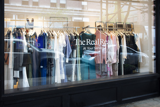 exterior of the realreal location in new york city