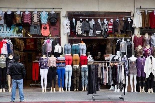 Fashion district shops