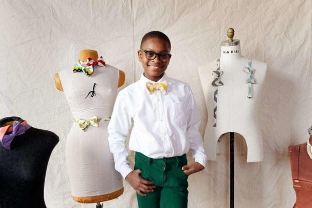 Teenager Moziah Bridges started Mo's Bows