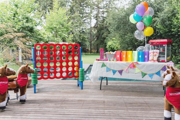 setup of joymode party rental
