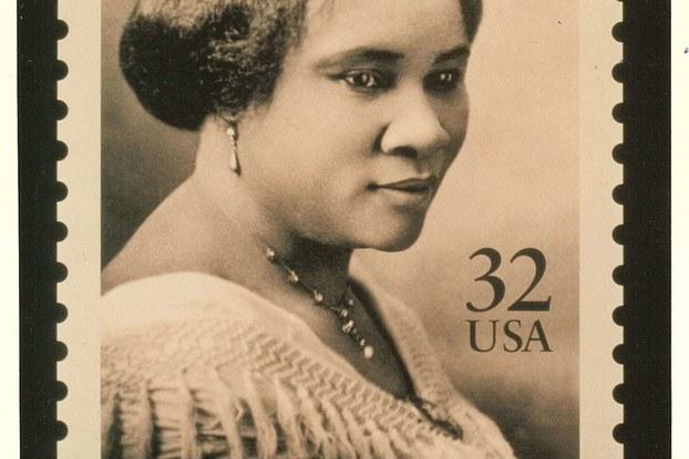 Madam CJ Walker stamp