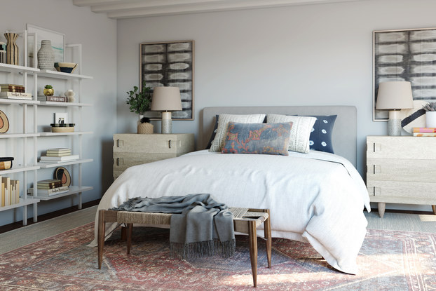 bedroom designed by modsy