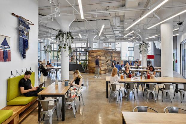 Etsy Open Office Space