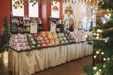 display at eataly holiday market
