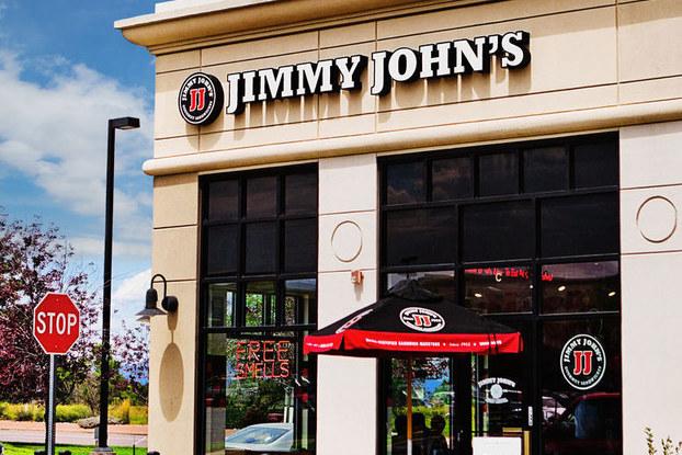 exterior of jimmy john's restaurant location