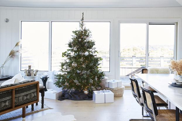 holiday workroom christmas tree display