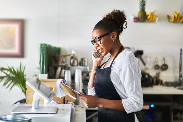 Phone service should fit your business' needs.