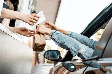 drive-through food exchange