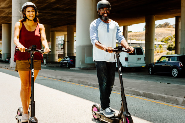 people using lyft scooters