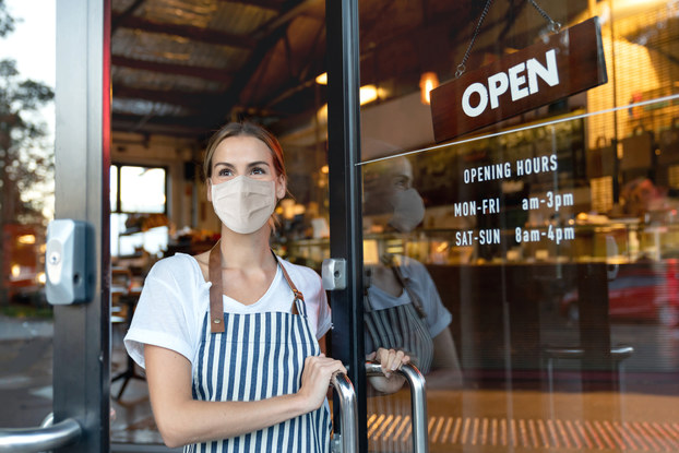 Young entrepreneur reopens business after COVID-19