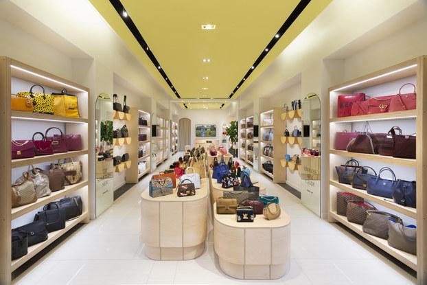 interior of rebag store