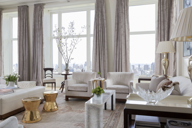 Manhattan penthouse apartment by Gauthier Stacy, Inc.