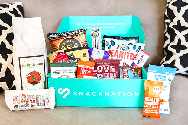 work-from-home wellness box from snacknation