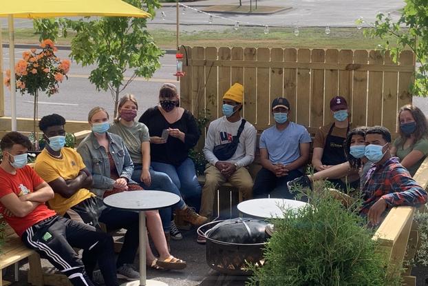 Yellow Bike Coffee staff