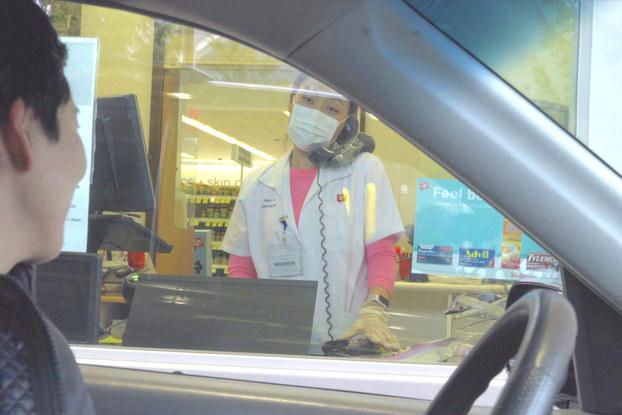 drive-thru window at walgreens