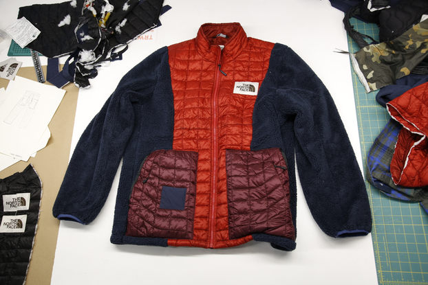 jacket made through The North Face Renewed initiative