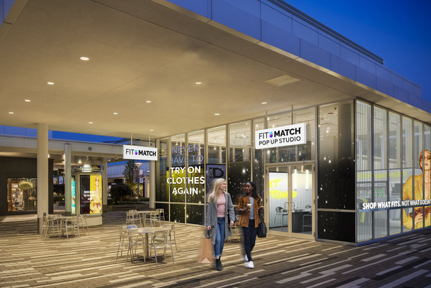 Fit:Match popup location at Oakbrook Center in Chicago