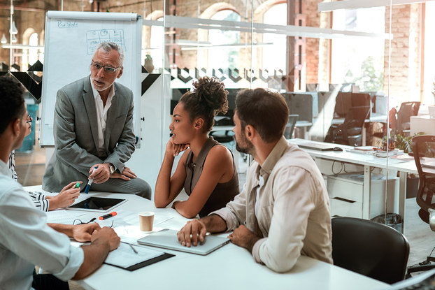 Smart leaders adapt leading styles to the current work environment.