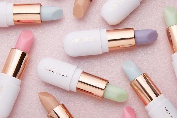 array of winky lux lipsticks