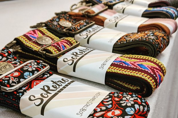 Handcrafted vintage-inspired straps for guitars, cameras and bags from SoRetro.