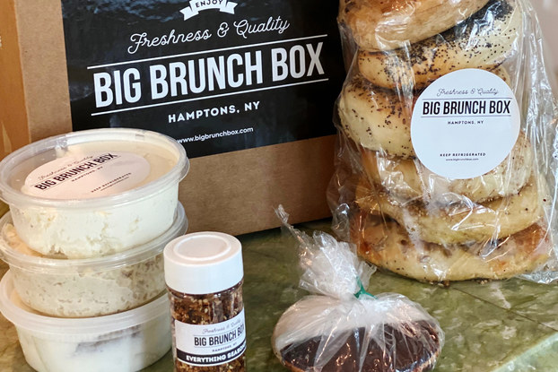 food display by big brunch box