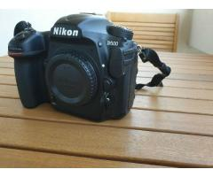 Nikon D500 camera in perfect condition for sale