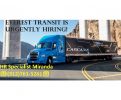Everest Transit Inc is currently hiring!