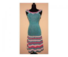 Heandknitted Cotton Dress