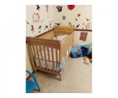 Детская кроватка для ребёнка 0-24 мес.