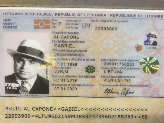 водительские удостоверение, Паспорта Документы Евросоюза,