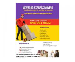 LICENSED AND INSURED PROFESSIONAL MOVERS New York City