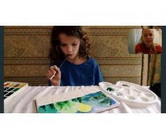 Онлайн уроки рисования для детей!
