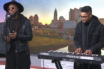 T.Wong performs with Aaron White on Good Day Columbus