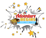 Comicpalooza - The Adventure Begins Logo