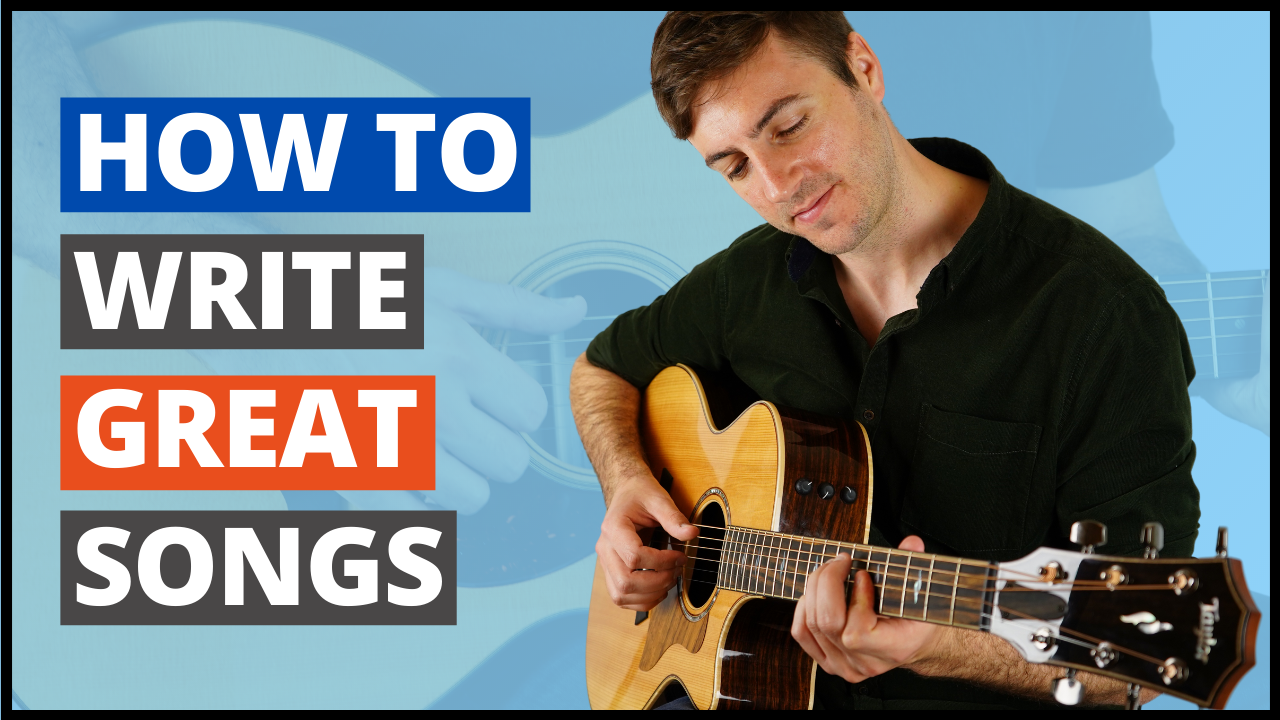 Complete Beginner's Guide to Guitar Songwriting Course