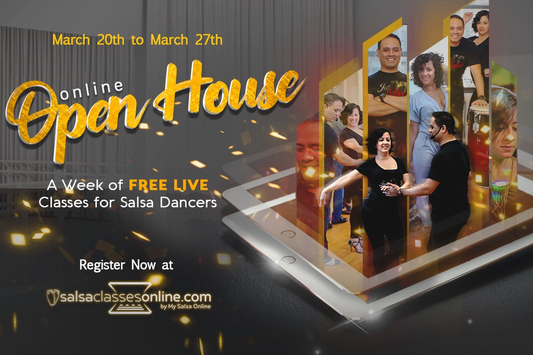 Salsa Classes Online Open House
