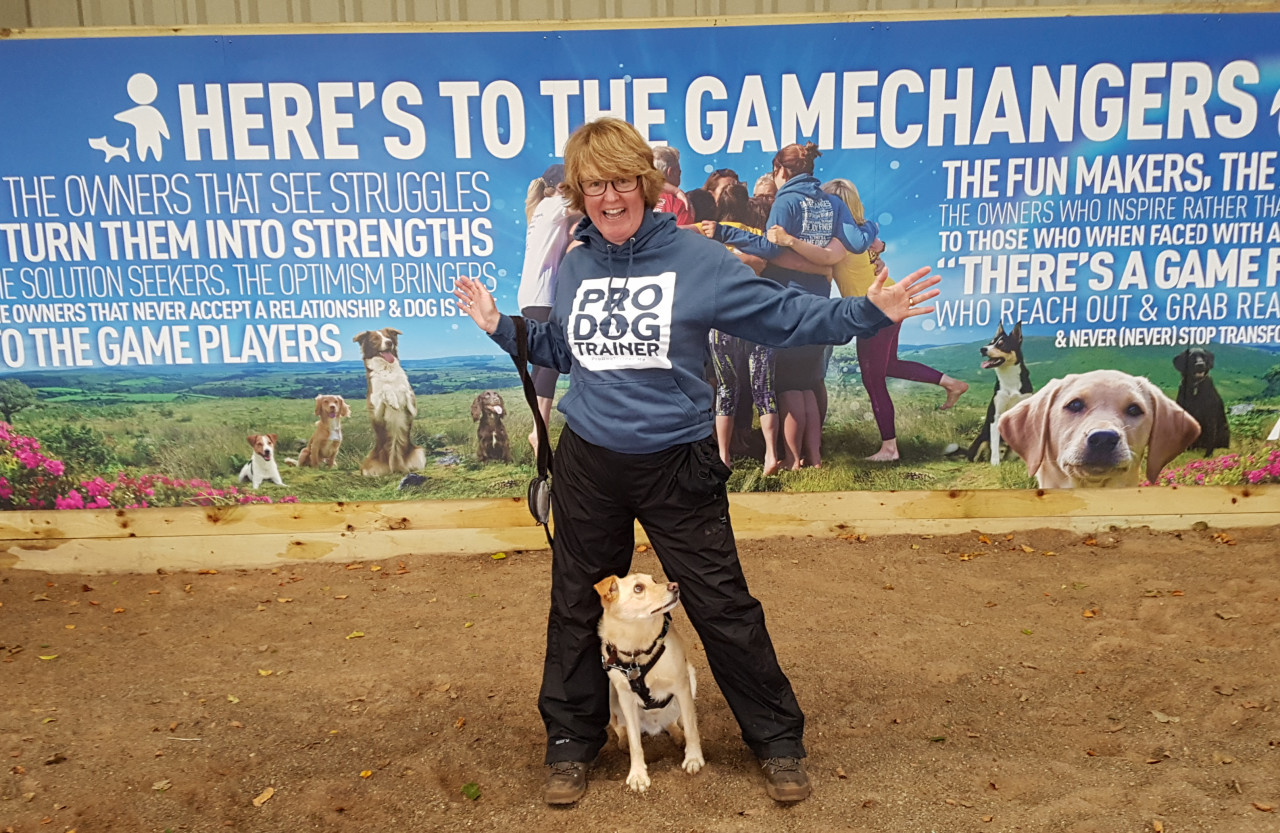 claire estherby, pro dog trainer